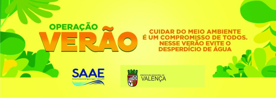 SAAE INICIA OPERAÇÃO VERÃO 2019